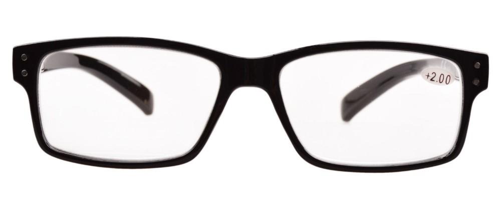 Черная рамка/Деми руку Весна петли Винтаж чтение очки мужчин с случае r032 + 1.00-+ 4.00