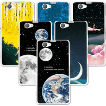 Buy FOR SONY Xperia Z1 mini D5503 M51W / Z1 Compact Couple Phone Case Space Stars Fantasy Art Print Back Cover Sony Z1 Mini for $1.39 in AliExpress store