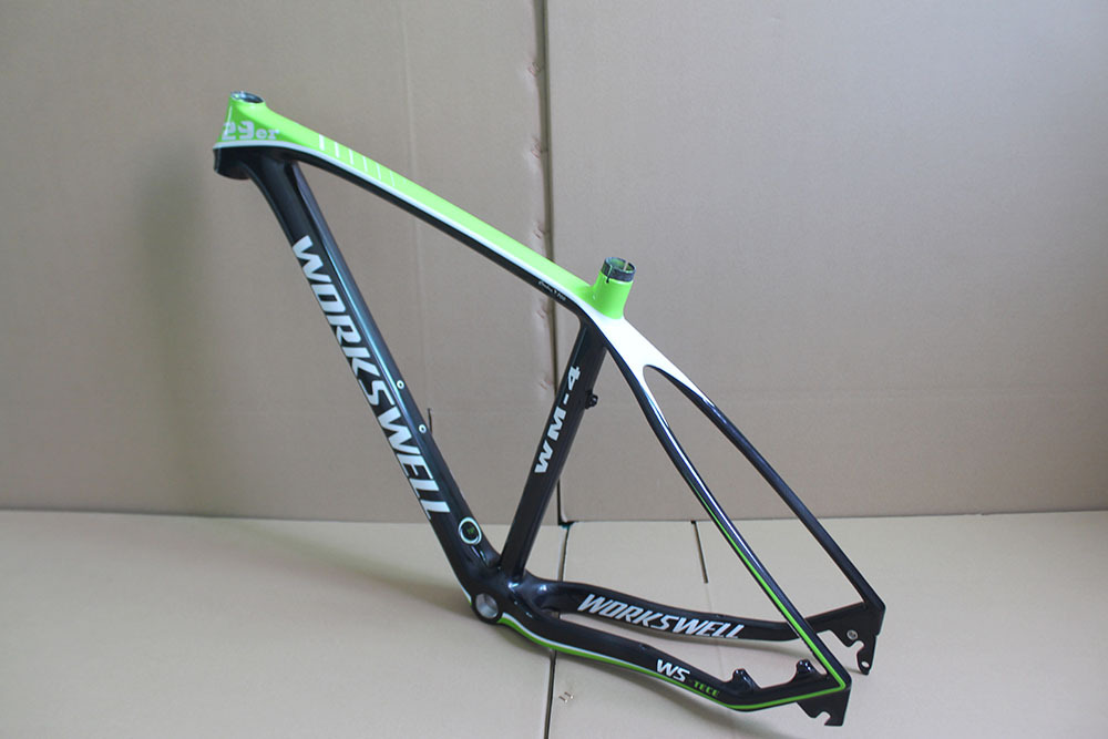 workswell XT bicycle 29er Mountain bike carbon frame ,29er carbon frames(China (Mainland))