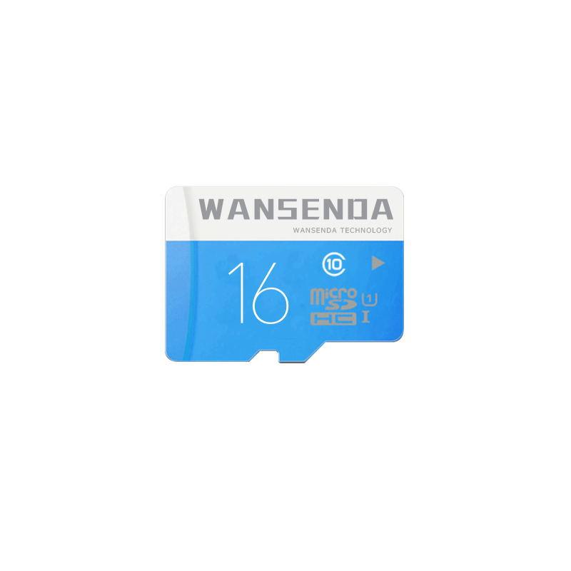 Hotsale WANSENDA Brand Micro SD Card 16GB Class 10 Memory Card TF Memory Card Free Adapter + Card Reader Fast Speed(China (Mainland))