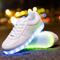 Women LED Shoes Stars Series Light Up Casual Shoes Led Glow Basket USB Rechargeable LED Luminous