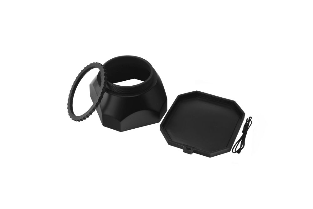 Wholesale Fotga 43mm screw mount lens hood + cap for  Digital video DV camera Sony Panasonic Canon<br><br>Aliexpress