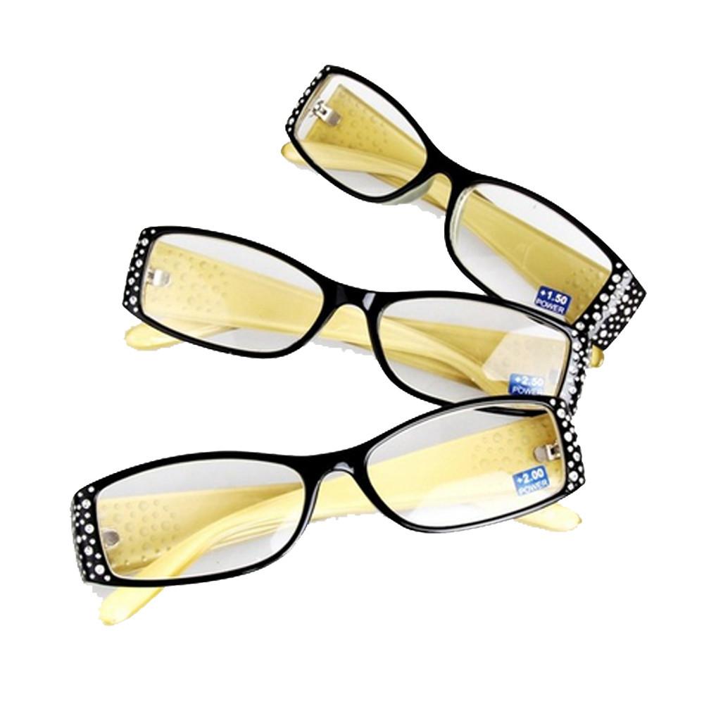 1pcs brand designer Reading glasses women diptor +1.0 +1.5 +2.0 +2.5 +3.0 +4.0 eyeglasses reading diamond frame eyewear x2001(China (Mainland))