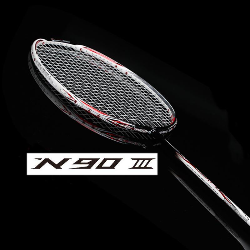 li ning badminton racket raquete original nano carbon n90iii lining N90-3 li-ning racket raquete(China (Mainland))