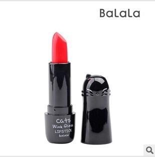 Lipstick balala tunoscope cat lipstick 8016 purple orange red