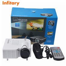 Hot UC28 LED Digital Video Game Projector Multimedia Player Input AV VGA USB SD HDMI Built-in Speaker Data Show Mini Proyector(China (Mainland))