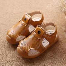 Summer Fashion Child Sandals Shoes For Boys Girls Sandals Casual Flat With Leather Kids Boys Sandals