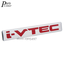 Buy I-VTEC 120x17mm Logo Aluminium Alloy Car Styling Accessories Emblem Side Stickers Auto Badge Audi Ford BMW Jeep KIA Benz for $4.48 in AliExpress store