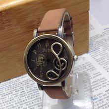 Relogio Feminino Sheet music pattern Quartz Watch women watches fashion Multi color wristwatches relojes mujer 2015