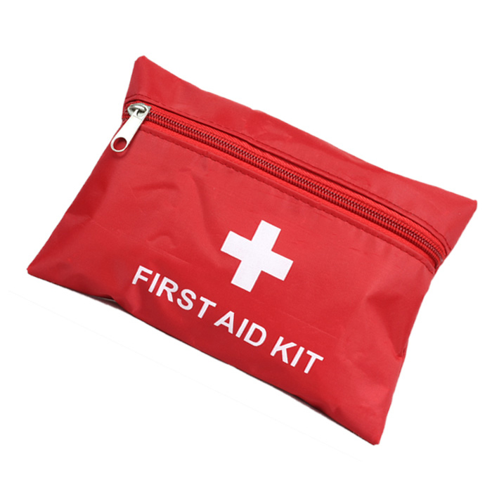 First aid kit outdoor survival kit first aid bags medicine bag red cross(China (Mainland))