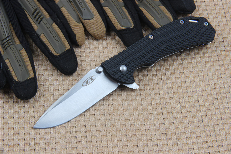 Buy ZT Stainless Steel Tactical Folding Knife for Outdoor Survival Camping Hunting Self-defense cheap