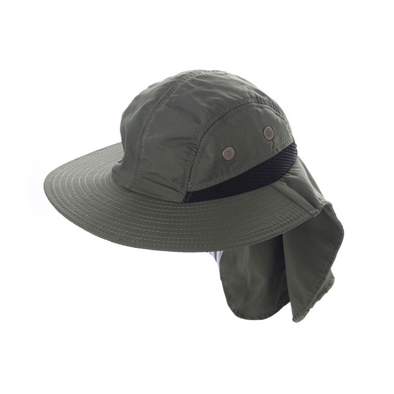 4 Colors Outdoor Fishing Breathe Freely Sunshade Hat Fisherman Cap
