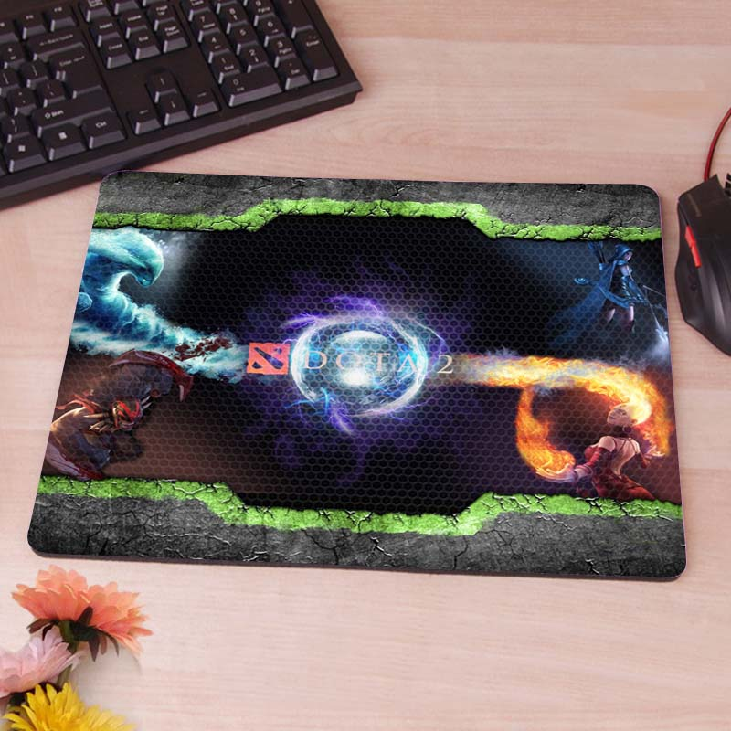 Dota 2 mouse pad game pad Gaming Rectangle Silicon Durable Mouse Pad Computer Mouse Mat <br><br>Aliexpress