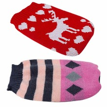 Buy Puppy Dog Sweater Knitwear Clothes Puppy Jacket Coat Jumper Warm Knit dog Sweater Tops Clothing Large D9440 for $1.99 in AliExpress store