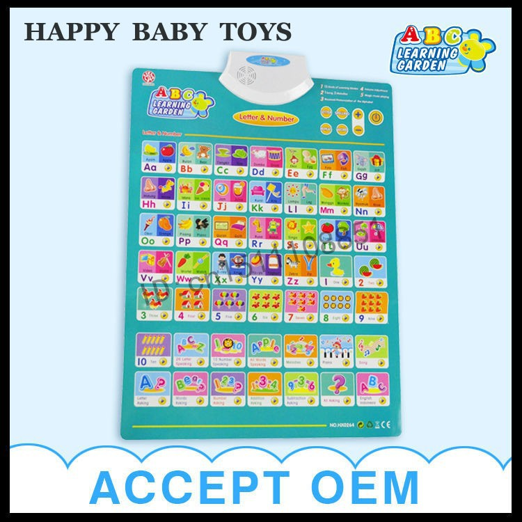 new baby toys for wall chart flip chart sound learning machine(China (Mainland))