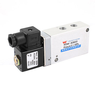 5 Ports 2 Positions Air Control Solenoid Valve AC220V 50 Hz<br><br>Aliexpress