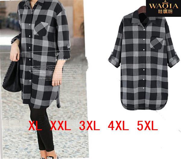 Женские блузки и Рубашки WAQIA 2015 XL xXL 3XL 4XL 5XL женские леггинсы andys xl xxl xxxl 4xl 5xl r wl01