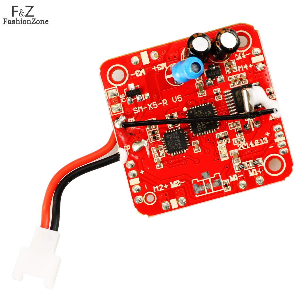 Гаджет  Syma X5C-1 2.4G 4CH 6-Axis RC Helicopter rc Quadcopter Drone spare parts PCB Receiver Board /2.4G receiver/main board 66* None Игрушки и Хобби