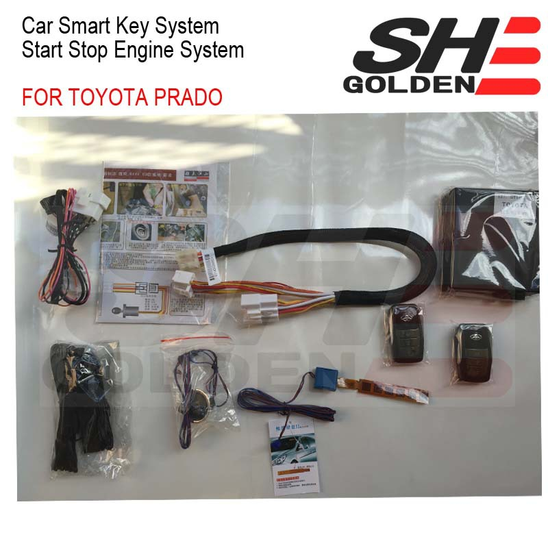 2015 FOR TOYOTA PRADO CAR SMART KEY SYSTEM / START STOP ENGINE SYSTEM FOR PRADO(China (Mainland))