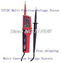 General Testers / Uni-Trend / UT15C / multi función de agua detectores prueba de tensión ; *** envío gratis UT15C Tester