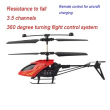 Boy toys NO902 3.5Ch remote control aircraft 15cm RC mini helicopter flight model toys for kids Simple operation lithium battery