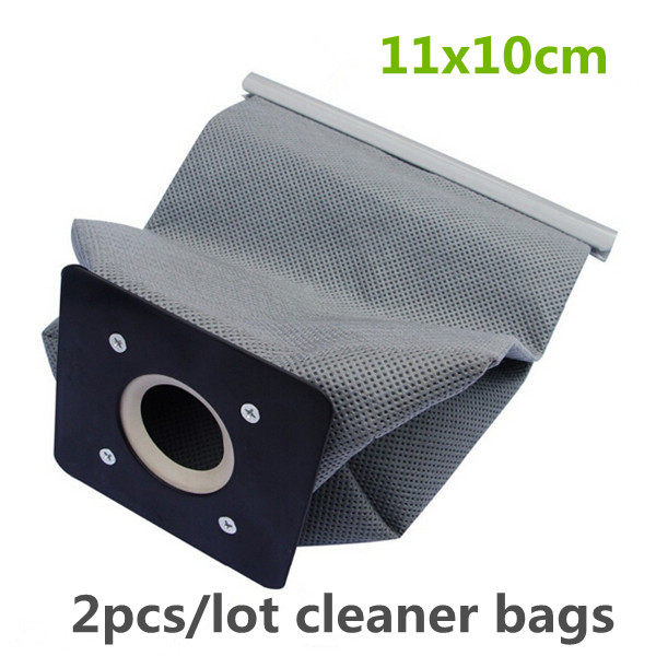 2pcs Practical Vacuum Cleaner Bag Non Woven Bags Hepa Filter Dust Bags Cleaner Environmental Bags Accessories For Cleaner 11x10(China (Mainland))