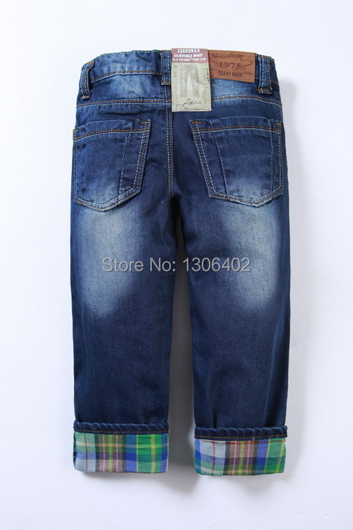 2013 New children 's jeans cotton Denim kids jeans boys and girls pants baby trousers size:2/3t 3/4T 4/5T 5/6T 7/8T 9/10T E8830(China (Mainland))
