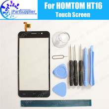 Buy HOMTOM HT16 Touch Screen Digitizer 100% Guarantee Original Digitizer Glass Panel Touch Replacement HOMTOM HT16+Tools for $8.77 in AliExpress store