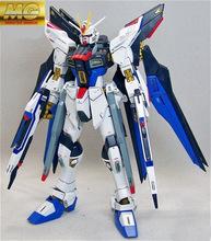 Assembled GUNDAM 1:100 Strike Freedom Gundam Blue Robot Gundam SEED Model Toys Anime Figure