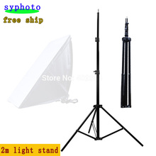 Free tax to Russia new photographic equipment free shipping Pro Photo Studio 6.6ft 2m Light Stand Light Stands