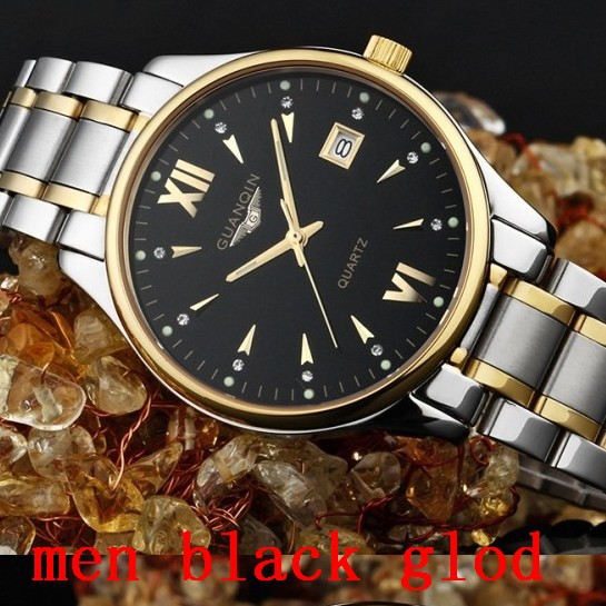 2015 new watches men luxury brand full steel Casual WristWatches Quartz sapphire gold health watch lady High quality waterproof(China (Mainland))