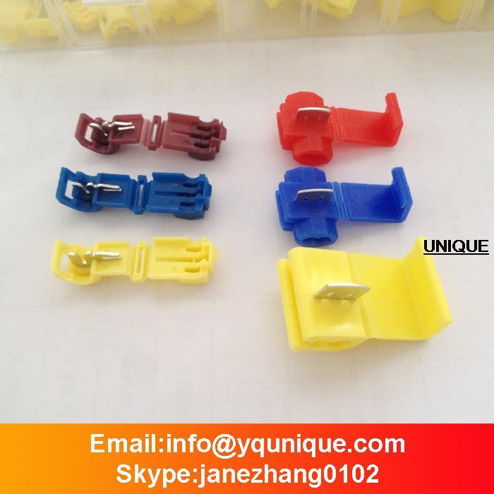 60pc Quick Splice Electrical Connector Assortment - 24-10 Ga - Organizer Case<br><br>Aliexpress