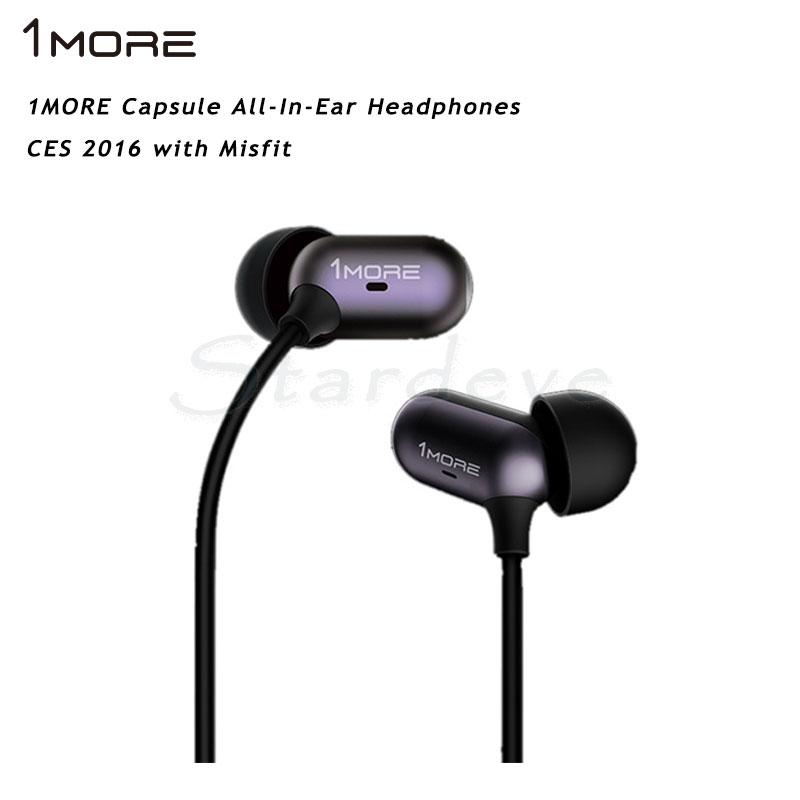 Xiaomi 1MORE earphone Capsule earbud Hybrid Dynamic Balanced Armature 2 Unit all In Ear HiFi earphone Mic Circle Iron Mixed(China (Mainland))
