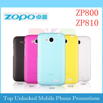 Original protective case for ZOPO ZP800 ZP810 C1 TPU quality hard cover housing  zopo accessory