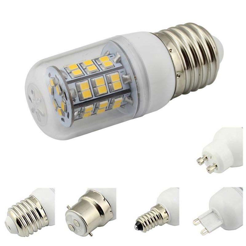 E27/E14/G9/GU10 Base Led Corn Bulb 24V 12V AC DC 48 Leds 2835 SMD 360 Degree Spotlight Home Lighting Warm White 10Pcs/Lot(China (Mainland))