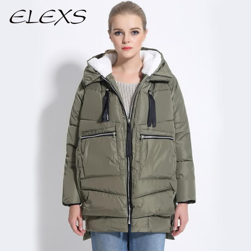 Женские пуховики, Куртки Elexs