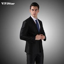 Костюмы China Brand от ViViStar Suit Shop для Мужчины, материал 75% полиэстер + 25% вискозного волокна артикул 881117297