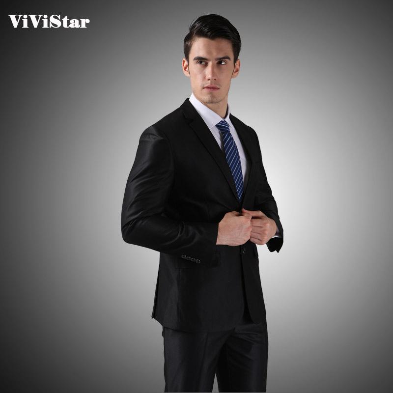 (Jackets+Pants) 2014 New Men Suits Slim Custom Fit Tuxedo Brand Fashion Bridegroon Business Dress Wedding Suits Blazer H0285(China (Mainland))