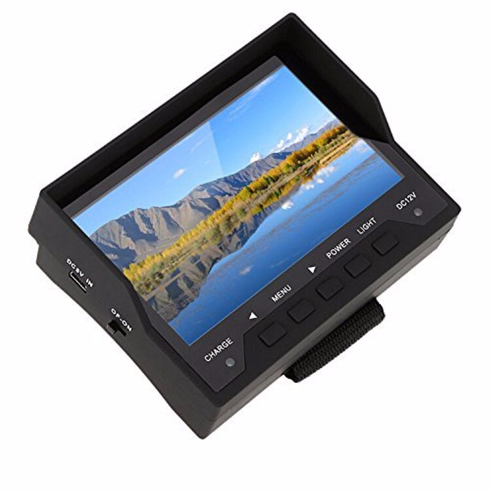 "New 4.3"" TFT 16:9 Display US Standard For Security Testing Dual Purpose Portable Diagnostic Tool Car Reverse Rear View Monitor(China (Mainland))"