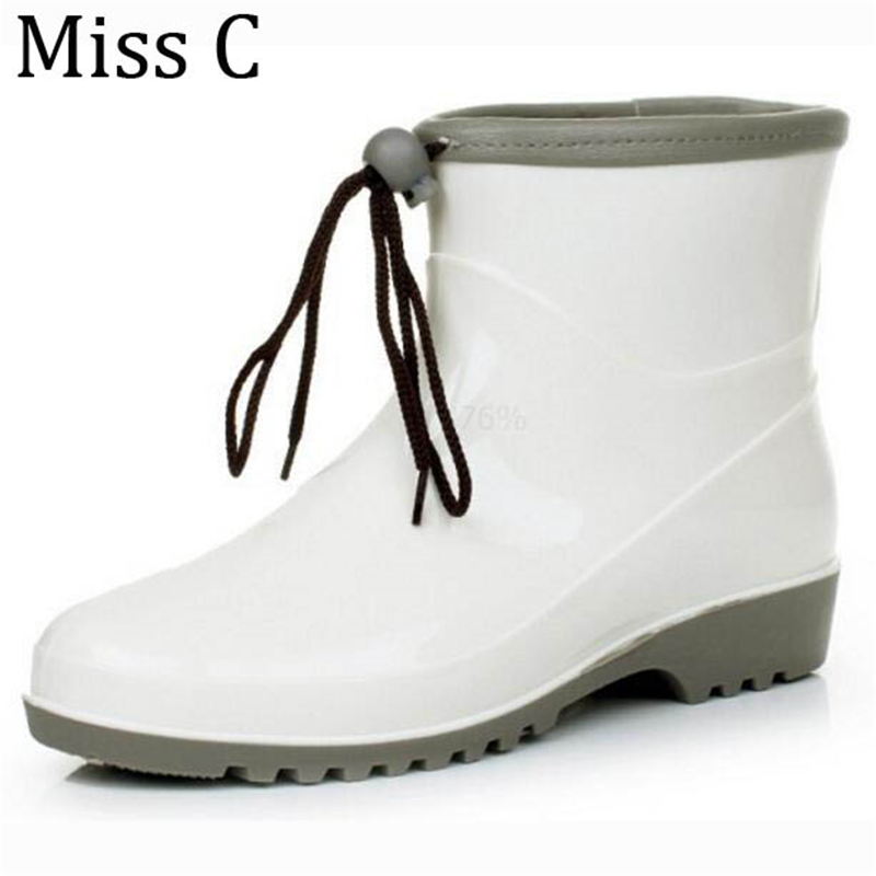 Cool White Rain Boots For Women - Boot Ri