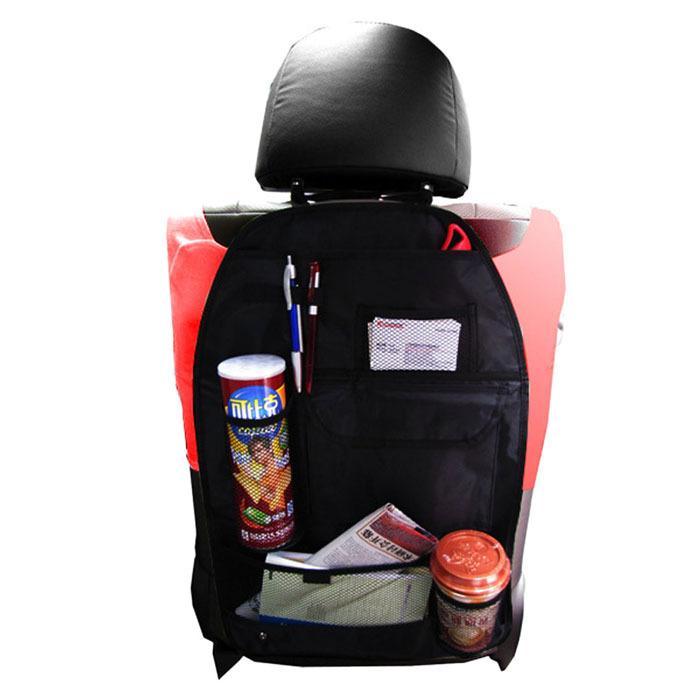 Brand new 2015 Vehicle Seat Back Holder Car Auto Storage Pocket Bag Hanger free shipping(China (Mainland))