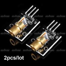 Laser Transmitter Module for Arduino AVR PIC 2pcs/lot Free Shipping(China (Mainland))