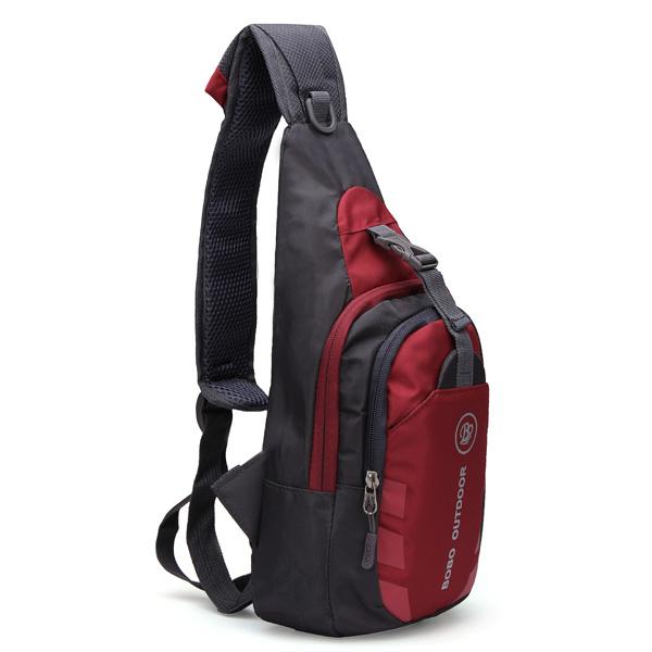 Unisex Nylon Chest Back Pack Outdoor Hiking Sport Crossbody Shoulder Bag Men Women Diagonal Package Rucksacks 2015 Hot(China (Mainland))