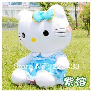 M'lele hot ! Super big size hello kitty toys 35cm size ,christmas gift,hello kitty doll,toys for girls 1pc(China (Mainland))