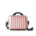Japan And Korean Style Portable Cosmetic Bag Ladies All match Scratch resistant Shoulder Bag Solid Color