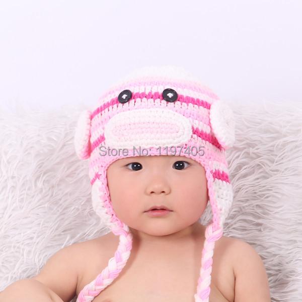 Fashion character crochet hats crochet monkey hat crochet captain america beanie hat for sale(China (Mainland))