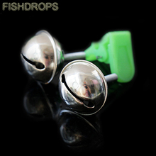 Sea fishing rod bells ringing bells double pole sea Rock Rod alarm gadget Fishing tackle free shipping