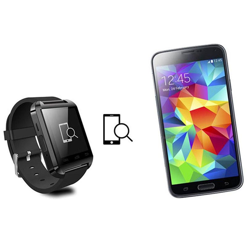 ถูก แฟชั่นr w atch u8บลูทูธสมาร์ทนาฬิกาข้อมือด้วยpedometerข้อความsmsซิงค์โทรremindeกีฬาpedometerสุขภาพสำหรับsamsung