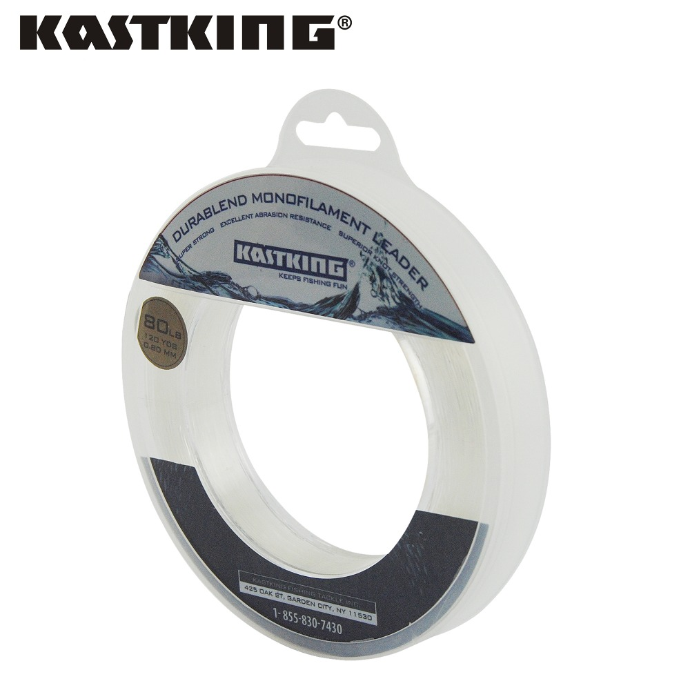 KastKing Brand Nylon Fishing Lines 110M 50LB Blade Monofilament Nylon Line 0.60mm Material Leader line Devel(China (Mainland))