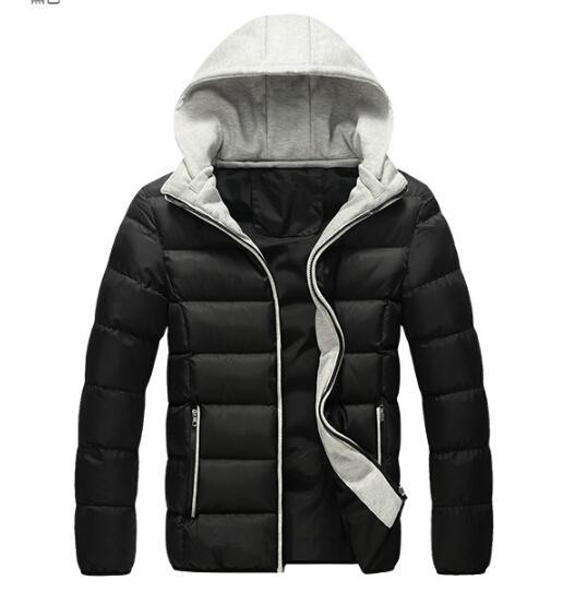 New 2015 ADID Brand Winter Jacket Men Warm DownJacket Casual Parka Men Winter Jacket Casual Handsome Winter Coat Men(China (Mainland))